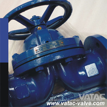 Manual Operated Flg RF/FF Weir Diaphragm Valve with Bonnet