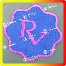 RV letters patch with heat seal