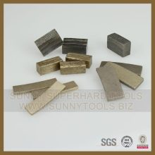 Segmento del diamante de la sierra de la serie del precio de fábrica para el corte seco