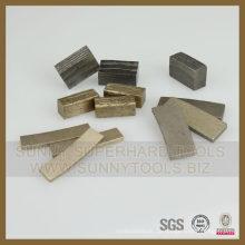 Diamant-Schneidwerkzeugsegment für Steine