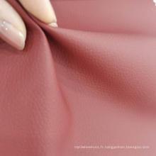 Cuir PVC avec tissu éponge français