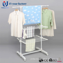 Powder Coated Two Layer Telescopic Garment Hanger