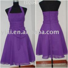 Luxo novo fashional produção real vestido de festa