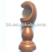 Декоративный кронштейн для одиночного каркаса из дерева