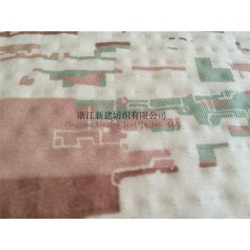 Nylon Cotton Interweave Fabric Camouflage untuk Arab Saudi