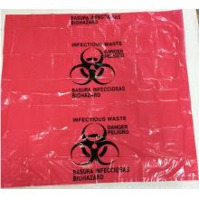 Sac à déchets dangereux bio rouge