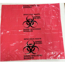 Красный Био Опасности Отходов Мешок