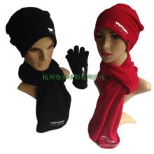 Полярный флисовый шарф Самый дешевый полиэфирный флис Custom Design Scarf