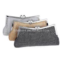 New Design Evening Clutch Bag Sac de mariée pour la soirée nocturne de mariage Utilisez les sacs à main nuptiales B00001 Ladies Wedding Party Bag