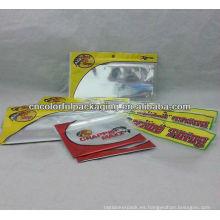 bolsa de cebo de pesca / bolsa de plástico suave para señuelos de pesca / plástico embalaje señuelo de la pesca