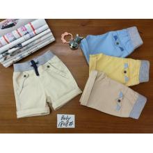 Günstige türkische Art Kinder Jungen Hosen aus China Großhandel Kleidung Fabrik reine Farbe kurze Hosen