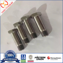 Titanium Gr2 Din 931 Half Thread Bolt