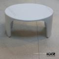 Tamboretes de cozinha elegantes de pedra artificial de tamanho pequeno
