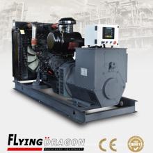 250kw 312.5kva Smartgen generador de control remoto Shanghai Shangchai Dongfeng motor SC13G355D2 junto con el alternador de Siemens