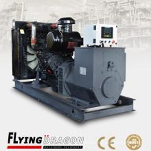 250kw 312.5kva Генератор дистанционного управления Smartgen Шанхай Shangchai Двигатель Dongfeng SC13G355D2 в сочетании с генератором Siemens