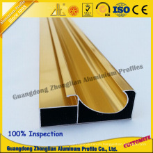Aluminium Profile Extrusion for Aluminum Frame Kitchen Cabinet Frame