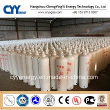 Acetylen-Stickstoff-Sauerstoff-Argon-Kohlendioxid-Gas-Zylinder