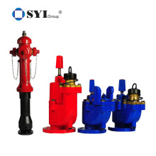 Outdoor underground dry barrel fire protection pillar type hydrant