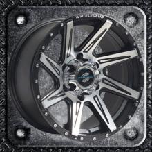 Chrome rivets SUV alloy wheel