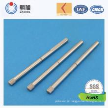 Eixo feito-à-medida certificado da qualidade da precisão 6 do ISO 9001 do fornecedor de China