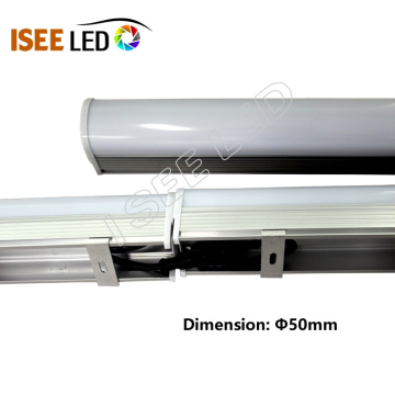 Base de alumínio DMX LED 5050 1 Pixel Tube