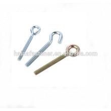 M20 galvanized 8.8 grade L hook bolt,J hook bolt