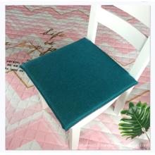 Hot sale square 40*40cm linen non-slip car seat cushion for chair