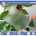 clear and color 100% new material frosted plastic wall panel