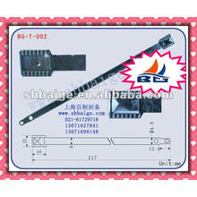 Container metal flat seal BG-T-002 for security use, sealing
