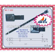 Junta plana metálica de contentor BG-T-002 para segurança, vedação