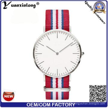 Yxl-605 2016 montre-bracelet en alliage Vogue Design Fashion Business Montre Montre Homme de Guangzhou Watch Factory