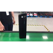 Bateria de lítio de peixe prateado com USB