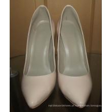 Moda salto alto classica bombas sapatos de vestido (hcy02-1691)