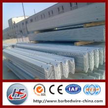 Highway guardrail W beam/sigma post,galvanized W beam for highway guardrail