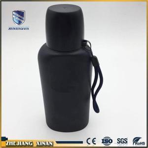 Antiskid insulated portable stainless water bottle