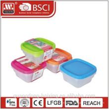 recipiente de alimento plástico