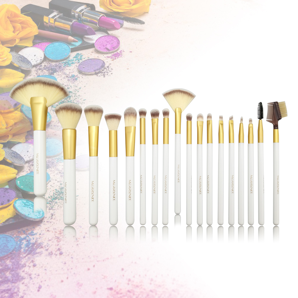 Makeup Brush Set with PU Bag