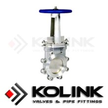 Quality for Knife Gate Valve - Bi-directional Knife Gate Valve, Slide Gate Valve Supplier, Slurry Gate Valve Manufacturer Knife gate valve Lug type supply to Djibouti Exporter