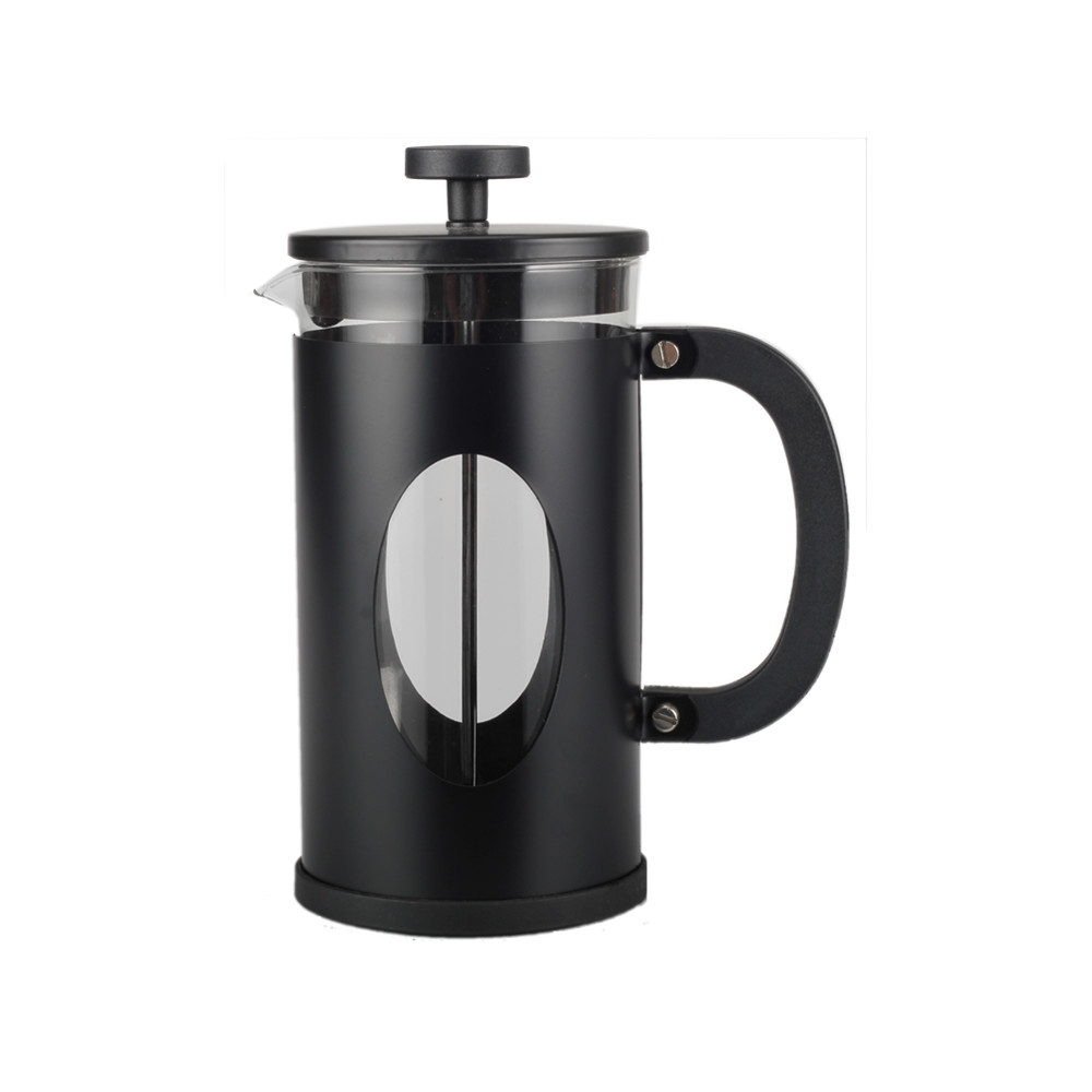 Heat Resistant Plastic Handle French Press