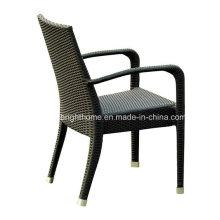 Cadeira dobrável cadeira de vime cadeira de jantar ao ar livre
