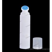 "Tubo redondo plástico de 40mm (1 9/16"") com pincel aplicador para cosméticos embalagens"