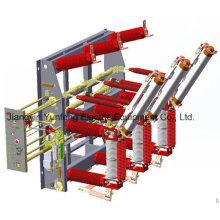 Interruptor de carga de vácuo de alta tensão com interruptor de ligação à terra