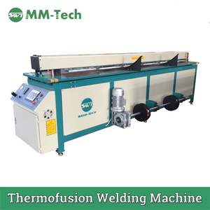 4m Plastic Sheet Pipe Butt Fusion Welding Machine
