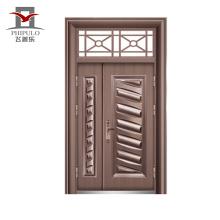 piel de la puerta de acero de la fábrica de puertas de China