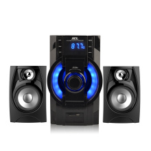 2.1 mini sistema de altavoz de woofer bluetooth