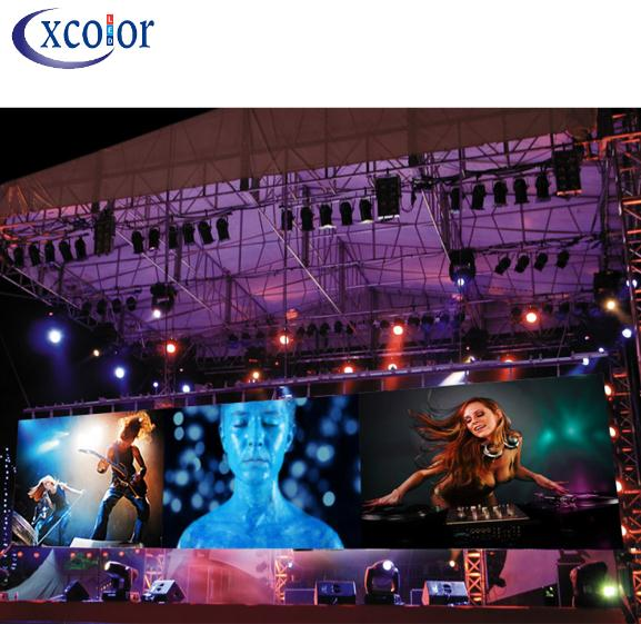 Stage Rental Led Screen Display