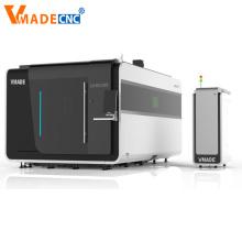 Machine de découpe laser à fibre couvrant les métiers en métal