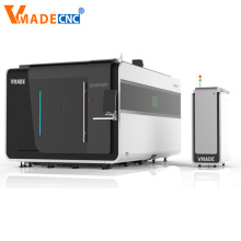 Covering Metal Crafts Fiber Laser Cutting Machine