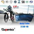 ISO Standard Motorcycle Butyl Inner Tube (2.50-18)