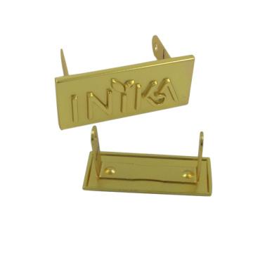 Конструкция OEM Выдвиженческий мешок металл Logo плита